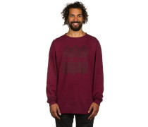 Meta Crew Sweater rot
