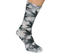 Tie-Dye Plantlife Socks grey
