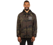 Locker Grid Hood Coaches Jacket camoflauge