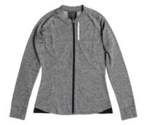 Purple Sky Fleece Jacket charcoal heather
