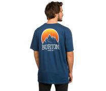 Vista T-Shirt blau