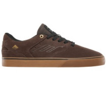 The Reynolds Low Vulc Skate Shoes gold