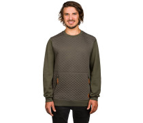 Chips Thermal Crew Sweater grün