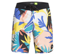 Highline Tropical Flow 19 Boardshorts snow white
