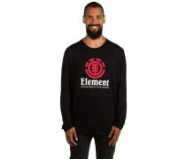 Vertical T-Shirt schwarz