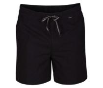 O&O Wash Volley Shorts black