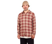 Bowery SW NP Flannel Shirt dark brick