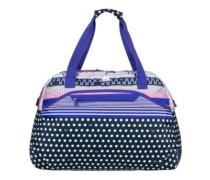 Too Far Travelbag dress blues wintery geo