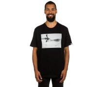 Curves T-Shirt schwarz
