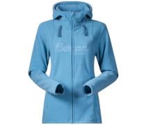 Bryggen Fleece Jacket steelblue