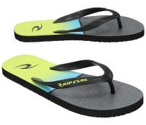 Combined Stripe Sandalen schwarz