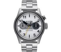The Safari Deluxe Uhr grau
