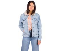 Gemma Denim Sherpa Jacket