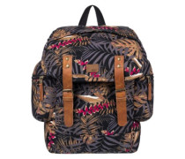 Free For Sun Backpack anthracite jungly flowers
