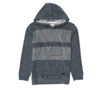 Flecker Blocked Hoodie dark slate