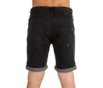 Select Ripped Denim Shorts black ripped