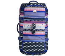 Long Haul Travelbag dress blues wintery geo