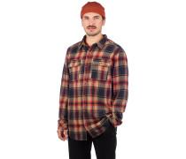 Jubal Flannel Shirt navy
