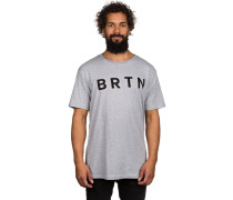 BRTN Slim T-Shirt grau
