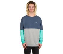 Keene Crew Neck Sweater blau
