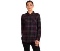 Flown Flannel Shirt LS midnight