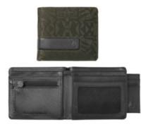 Showtime Bi-Fold Id Zip Wallet palm