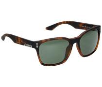 Liege Matte Tortoise Sonnenbrille braun