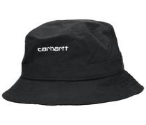 Script Bucket Hat white