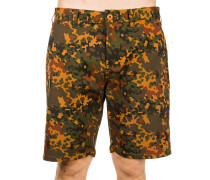 Quality Dissent Recon Shorts camo