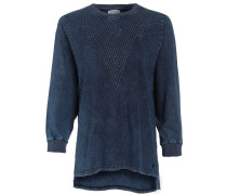 Vlcm Crew Sweater blau