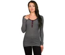 Helle T-Shirt LS stripe cream