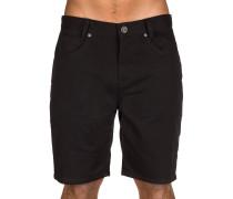 Outsider 5 Pockets Shorts schwarz