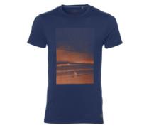 Half Dome Hybrid T-Shirt atlantic blue