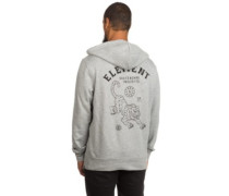 Tour Zip Hoodie grey heather