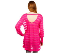 Longe Sleeve Tunic Sweater fuchsia