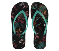 Printed Sandals Women black aop
