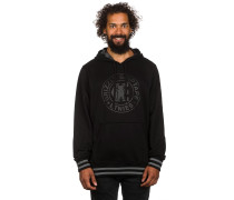 Grizzly Corp Pullover Hoodie schwarz