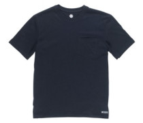 Basic Pocket Crew T-Shirt flint black