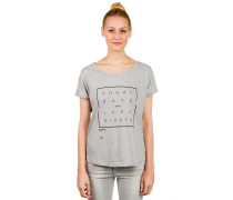 Long Nights Crew T-Shirt grau