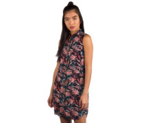 Tropic Camp Dress black california floral