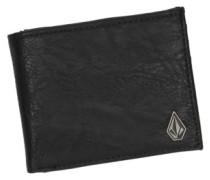 Slim Stone Wallet black