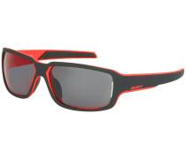 Obsess ACS Black Matt/Red Sonnenbrille schwarz