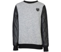 Poma Ski Sweater heather grey