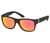 Lyric Black/Orange Sonnenbrille schwarz