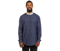 Sanford Woven Hemd blau