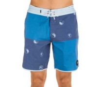 Quad Block 18 Boardshorts estate blue