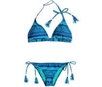 Roxy Fixed Tri / Tie Side Surfer Set Bikini