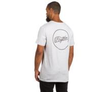 Label T-Shirt grey marle
