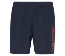Tartan Logo Beach Shorts blackout