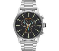The Sentry Chrono Uhr schwarz